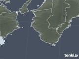 2021年04月22日の和歌山県の雨雲レーダー