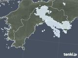 2021年04月22日の高知県の雨雲レーダー