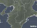 2021年04月23日の奈良県の雨雲レーダー