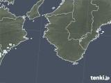2021年04月23日の和歌山県の雨雲レーダー