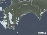 2021年04月23日の高知県の雨雲レーダー