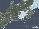 2021年04月25日の関東・甲信地方の雨雲レーダー