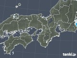 2021年04月25日の近畿地方の雨雲レーダー
