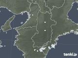 2021年04月25日の奈良県の雨雲レーダー