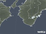 2021年04月25日の和歌山県の雨雲レーダー