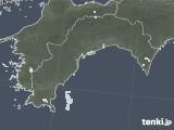 2021年04月25日の高知県の雨雲レーダー