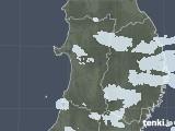 2021年04月25日の秋田県の雨雲レーダー