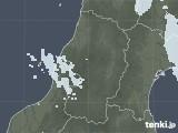 2021年04月26日の山形県の雨雲レーダー