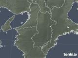 2021年04月27日の奈良県の雨雲レーダー