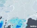 2021年04月28日の奈良県の雨雲レーダー