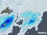 2021年04月28日の和歌山県の雨雲レーダー