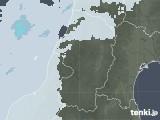 2021年04月28日の山形県の雨雲レーダー