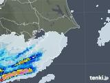 2021年05月01日の千葉県の雨雲レーダー