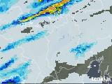 2021年05月01日の滋賀県の雨雲レーダー