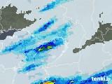 2021年05月01日の大阪府の雨雲レーダー