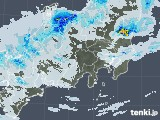 2021年05月02日の関東・甲信地方の雨雲レーダー