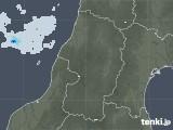 2021年05月08日の山形県の雨雲レーダー