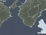 2021年05月09日の和歌山県の雨雲レーダー