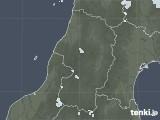 2021年05月10日の山形県の雨雲レーダー