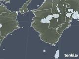 2021年05月13日の和歌山県の雨雲レーダー