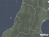 2021年05月13日の山形県の雨雲レーダー