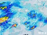 2021年05月20日の近畿地方の雨雲レーダー