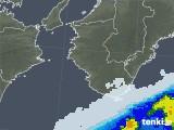 2021年05月22日の和歌山県の雨雲レーダー