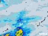 2021年05月22日の鹿児島県(奄美諸島)の雨雲レーダー