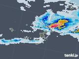 2021年05月23日の沖縄県の雨雲レーダー