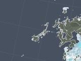 2021年05月24日の長崎県(五島列島)の雨雲レーダー