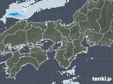 2021年05月25日の近畿地方の雨雲レーダー