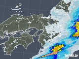 2021年05月27日の近畿地方の雨雲レーダー