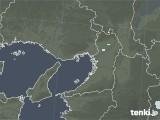 2021年06月02日の大阪府の雨雲レーダー