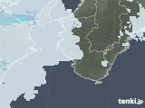 2021年06月03日の和歌山県の雨雲レーダー