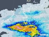 2021年06月03日の長崎県の雨雲レーダー
