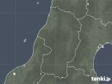 2021年06月03日の山形県の雨雲レーダー