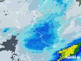 2021年06月04日の和歌山県の雨雲レーダー