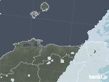 2021年06月04日の鳥取県の雨雲レーダー