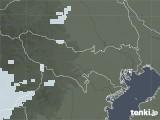 2021年06月05日の東京都の雨雲レーダー