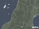 2021年06月05日の山形県の雨雲レーダー