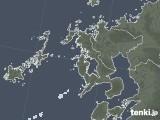2021年06月06日の長崎県の雨雲レーダー