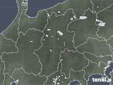 2021年06月07日の長野県の雨雲レーダー