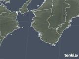 2021年06月07日の和歌山県の雨雲レーダー
