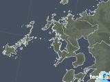 2021年06月09日の長崎県の雨雲レーダー