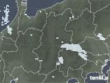 2021年06月12日の長野県の雨雲レーダー