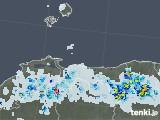 2021年06月14日の鳥取県の雨雲レーダー