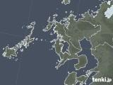 2021年06月14日の長崎県の雨雲レーダー