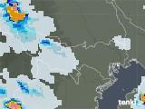 2021年06月15日の東京都の雨雲レーダー