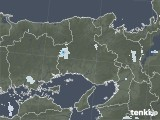 2021年06月17日の兵庫県の雨雲レーダー