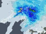 雨雲レーダー(2021年06月18日)
